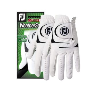 FootJoy Men's WeatherSof Golf Gloves